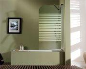 mampara bañera puertas abatibles modelo genesis